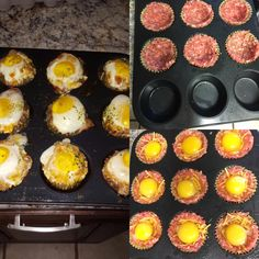 Sausage, Egg, and Cheese Cups