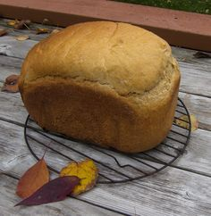 Pumpkin / Winter Squash Yeast Bread for the Bread Machine