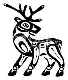 Deer stock vector art 12742967 - iStock