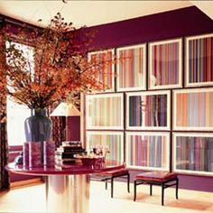 Summer Plum color bring out the room really good with the light shinning in