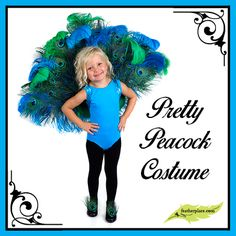 Pretty Peacock Costume - The Feather Place Rooster Costume, Bird Costume, Costume Hats, Baby Costumes, Adult Costumes, Costume Ideas, Peacock Halloween Costume, Halloween Costumes, Homemade Halloween