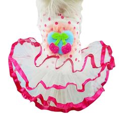 Outtop Puppy Small Dog Lace Skirt Princess Tutu Dress Clothes Coat Costume ** More info could be found at the image url. (This is an affiliate link and I receive a commission for the sales)