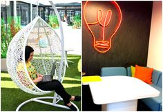 Idea Hub Warsaw, this free coworking space is becoming popular