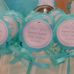TIFFANY & CO Baby Shower Party Ideas   Photo 8 of 29