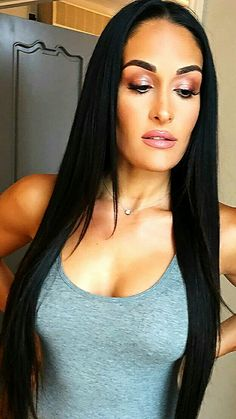 Online Shop Brazilian Straight Human Hair 3 Bundles With Closure Brazilian Virgin Hair Straight With off promotion factory cheap price,DHL worldwide shipping, store coupon available.straight hairstyles for black women unprocessed virgin remy human ha Remy Human Hair, Human Hair Extensions, Human Hair Wigs, Weave Extensions, Nikki Bella Photos, Nikki And Brie Bella, Nicki Bella, Bella Diva, Straight Weave Hairstyles
