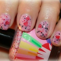 Kawaii Nail Lacquer: Be mine