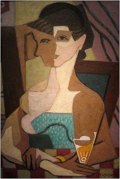 Jean METZINGER - Femme face et profil
