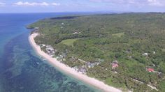 Carabao Island, Lanas Beach resort and other resorts in the picture