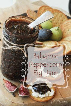 girl. Inspired.: Balsamic Peppercorn Fig Jam