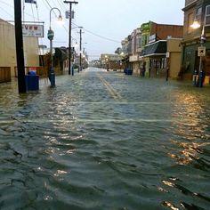 Rachelle Carb - Spicer Ave., Wildwood, NJ  #frankenstorm #sandy