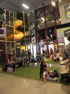 Discovery Place KIDS in Huntersville - It's play time!