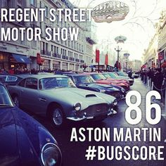 How many of you enjoyed the today? Thanks to Matzanas for the pic! by bugscore Oxford Circus, Piccadilly Circus, Car Show, Aston Martin, Super Cars, London, History, Street, Historia