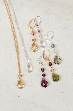 - Marla Necklace and Earrings.....so many choices here at Wallflower, Honesdale