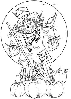 scarecrow coloring pages picture 26 activity scarecrow coloring pages for kids