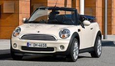 When it comes to curbside attraction and driver fun, the Mini Cooper convertible scores a knockout over most cars on the road. Mini Cabrio, Mini Paceman, Mini Clubman, My Dream Car, Dream Cars, 2cv6, Mini Cooper Convertible, Morris Minor, Roadster