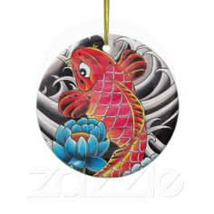 Put a pin in it with a Cool button at Zazzle! Button pins that really stand out with thousands of designs to pick from. Create easy make buttons & pins today! Cool Buttons, How To Make Buttons, Christmas Tree Themes, Christmas Tree Ornaments, Red Lotus Tattoo, Japanese Ornaments, Japanese Christmas, Badge Design, Oriental