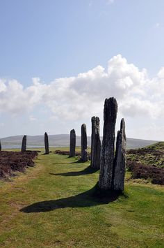 The Ring of Brodgar is a Neolithic henge and stone circle on the Mainland, the largest island in Orkney, Scotland. It is part of the UNESCO World Heritage Site known as the Heart of Neolithic Orkney