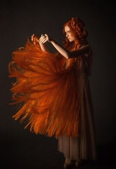 Red hair: Kristin Kazz by Anastasia Nikitskaya