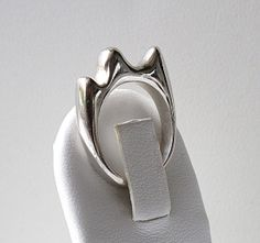Now on Etsy ! Fine Jewelry | Sterling silver waves ring by Fleur du Luxe
