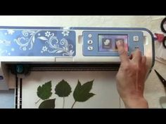 I show how to scan real leaves from my backyard and cut them from mixed media paper. I also demonstrate how I watercoloured them using Tombow Dual Brush Pens...
