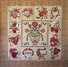 Vintage Valentine made by Janet Beyea