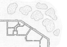 auberge-d'orona-floor-1c, coaching inn, rpg map, floor plan, kosmic Dungeon
