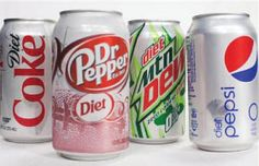 Diet sodas and the brain