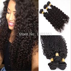 6A 3 Bundle Peruvian Virgin Hair Weft Deep Wave,High Quality Hair Weaves from Hot Queen Hairs Co., Ltd on Aliexpress.com www.hotqueenhair.com