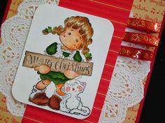Márcia - cartões: Natal com Magnolia