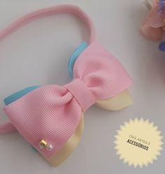 Baby Bows, Baby Headbands, Baby Tiara, Business Baby, Hair Wreaths, Ribbon Hair Bows, Diy Hair Accessories, Girls Bows, Diy Hairstyles