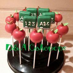 Teacher Appriciation Week Cakepops