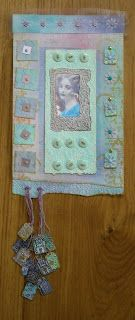 Paper wall hanging inspired by Beryl Taylor - Adrienne's Art Garden