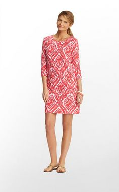 LILLY PULITZER Charlene Dress in Reef Madness, Island Coral