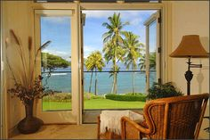 Hawaiian decor reflects striking beauty of the Pacific Ocean and island flora. Elegant and colorful, cheerful and exotic Hawaiian decor feels very relaxing and comfortable. The collection of wonderful