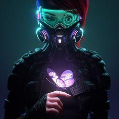 Arte Cyberpunk, Cyberpunk Girl, Cyberpunk Aesthetic, Cyberpunk Fashion, Cyberpunk 2077, Cyberpunk Anime, Cyberpunk Games, Neon Aesthetic, Arte Digital Fantasy