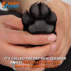 Pet Paw Cleaner 😍 Pet Paw Cleaner 😍 The Pet Paw Cleaner features soft, thick, silicone bristles inside of an easy-to-grip, BPA-free tumbler that works like a small agitation washer as it cleans your pet's paws. To use, simply fill… Continue Reading → Animals And Pets, Cute Animals, Pet Paws, Cool Inventions, Pet Health, Dog Grooming, Fur Babies, Cute Dogs, Your Pet