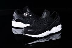 best sneakers 01456 650d6 Womens   Mens (unisex) Nike Air Huarache Black White Pearl 36-46 Spain