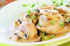 Herlig høstgryte med svinefilet og sjampinjong. Turkey, Chicken, Food, Turkey Country, Essen, Meals, Yemek, Eten, Cubs