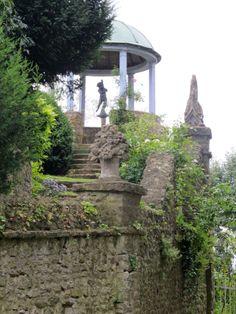 Garden of Henri le Sidaner in Gerberoy