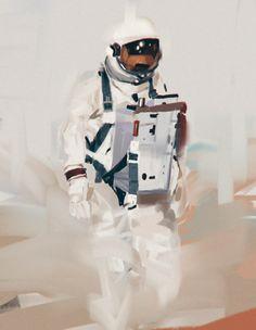 astronaut study 03 by Zedig on deviantART