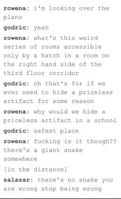 There is no snake what