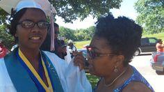 Kheni & mom @ her high school graduation...