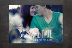 Happiest Homestyle Save the Date Cards by Max and Bunny at minted.com