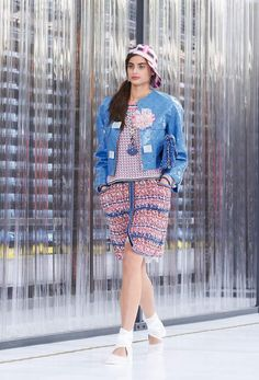 Chanel RTW SS 2017 Look 35 #Chanel #DataCenterChanel #SpringSummer2017 | Visit espritdegabrielle.com L'héritage de Coco Chanel #espritdegabrielle