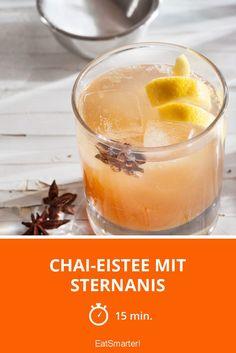 Chai-Eistee mit Sternanis