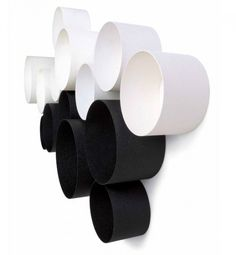 Interior:White And Black Modern Round Wall Shelves For Displaying Your Belongings Place For Some Tool Us Book Picture Frame Or Small Decorat...