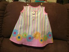 Daisy baby dress by Deb