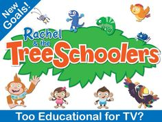Check out this opportunity! Pledge towards the funding of a new preschool program with great rewards!! Rachel and the TreeSchoolers - by the makers of Signing Time