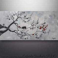 146 Best Black White And Red Painting Ideas Images