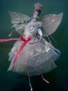 betty bib's fairyware, hand made fairies and fairy paintings